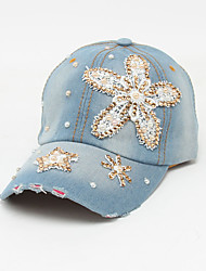 cheap -Unisex Basic / Holiday Baseball Cap - Floral Butterfly