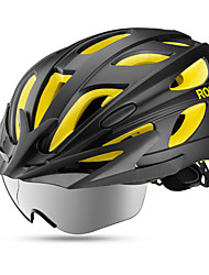 cheap -ROCKBROS Adults' Bike Helmet 18 Vents EPS, PC Sports Cycling / Bike - Dark Blue / Red / Black / Yellow Men's / Women's