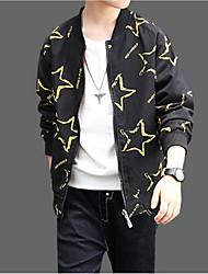 cheap -Kids Boys' Basic / Street chic Sports Print Print Long Sleeve Cotton Jacket & Coat