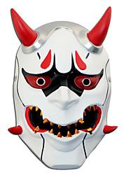 baratos -Máscara Inspirado por Overwatch Fantasias Anime Acessórios para Cosplay Máscara Resina