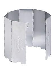 Недорогие -Походная тарелка Походная горелка Один экземляр 1 С защитой от ветра за Твердый алюминий Алюминиевый сплав на открытом воздухе Пешеходный туризм Походы Белый