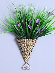 cheap -Artificial Flowers 1 Branch Wall-Mounted Modern / Contemporary / Simple Style Calla Lily Wall Flower