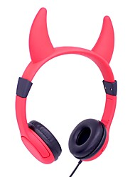 cheap -LEISA I3E Wired Kids Headphones Over Ear With 85db Volume Limited Food Grade Silicon (Child-friendly) Dual Braided Cable