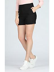 abordables -Mujer Básico / Chic de Calle Chinos Pantalones - Un Color