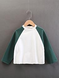 cheap -Kids Girls' Patchwork Long Sleeve Hoodie & Sweatshirt