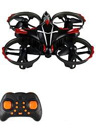 baratos -RC Drone JJRC H56 RTF 4CH 6 Eixos 2.4G Quadcópero com CR Retorno Com 1 Botão / Modo Espelho Inteligente / Vôo Invertido 360° Quadcóptero RC / Controle Remoto / 1 Bateria Por Drone