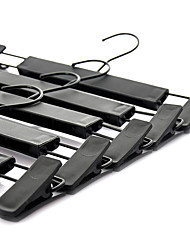 baratos -Plástico / PP Triângulo Criativo Casa Organização, 5 Peças Cabides