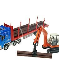 baratos -Carros de Brinquedo Veiculo de Construção Guindaste Camião Transporter Veiculo de Construção Vista da cidade Legal Requintado Metal Crianças Adolescente Todos Para Meninos Para Meninas Brinquedos Dom