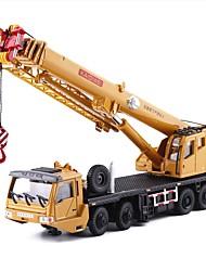 Недорогие -Игрушечные машинки Строительная техника Кран Строительная техника Вид на город утонченный Металл Детские Для подростков Все Мальчики Девочки Игрушки Подарок 1 pcs