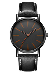cheap -Geneva Women's Wrist Watch Quartz New Design Casual Watch Cool Leather Band Analog Casual Fashion Black / Brown - Black Brown One Year Battery Life