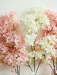 baratos -Flores artificiais 1 Ramo Clássico Casamento / Pastoril Estilo Sakura Guirlandas & Flor de Parede