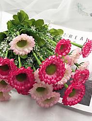 abordables -Fleurs artificielles 1 Une succursale Classique Oriental / Européen Marguerites Fleur de Table