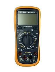 Недорогие -dt-151d lcd портативный цифровой мультиметр, используемый для дома и автомобиля
