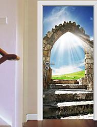 economico -Adesivi decorativi da parete - Adesivi 3D da parete Fotografia Salotto
