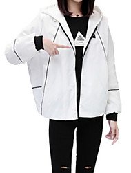cheap -Women's Jacket - Color Block Stand