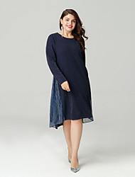 cheap -Sweet Curve women's slim a line dress asymmetrical