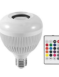 Недорогие -KWB 1шт 12 W 1200 lm E26 / E27 Умная LED лампа G95 28 Светодиодные бусины SMD Smart / Bluetooth / Диммируемая RGBW 100-240 V