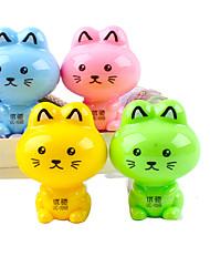 Недорогие -кошка в форме ручной точилка для карандашей (Random Color)