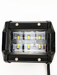 Недорогие -1 шт. Нет Автомобиль Лампы 60 W SMD 3030 6000 lm 12 Светодиодная лампа Внешние осветительные приборы Назначение Универсальный Универсальный Все года