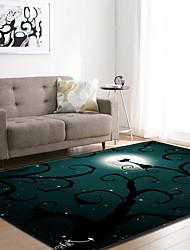 Недорогие -ковры для одежды на Хэллоуин Хэллоуин, прямоугольный коврик высшего качества / без скольжения