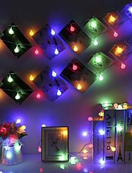 Недорогие -BRELONG® 1шт LED Night Light RGB От электросети Свадьба / День рождения / Украшение 220-240 V
