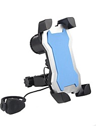 baratos -Suportes alarme, Porta ferramenta, Celular Ciclismo de Lazer / Ciclismo / Moto / Moto Plástico Preto / Azul / Rosa claro - 1 pcs