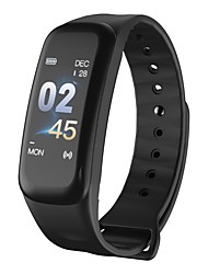 economico -Intelligente Bracciale YY-C1S/C1PLUS per Android iOS Bluetooth Sportivo Impermeabile Monitoraggio frequenza cardiaca Misurazione della pressione sanguigna Schermo touch Cronometro Pedometro Avviso di
