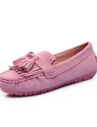 cheap -Women's Shoes Pigskin Spring & Summer Comfort Loafers & Slip-Ons Platform Gray / Pink