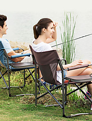 cheap -Camping Folding Chair Outdoor Aluminium for Fishing / Camping / Travel - 1 person Coffee