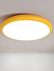 baratos -Montagem do Fluxo Luz Ambiente Acabamentos Pintados Metal Tricolor 110-120V / 220-240V Branco quente + branco Fonte de luz LED incluída / Led Integrado