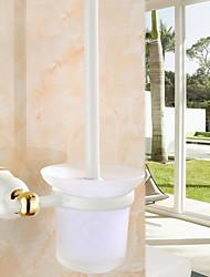 economico -Portascopino Nuovo design / Fantastico Moderno Acciaio inox / ferro 1pc Portaspazzolone WC Montaggio su parete