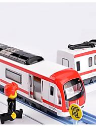baratos -Trens & Ferrovias de Brinquedo Trem Cauda Luminoso / Requintado / Interação pai-filho Plástico e metal / Liga de Metal Todos Infantil Dom 1 pcs