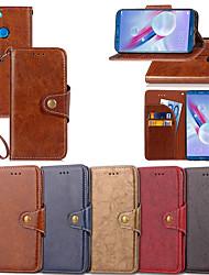 povoljno -Θήκη Za Huawei Honor 9 Lite / Honor 7C(Enjoy 8) Novčanik / Utor za kartice / sa stalkom Korice Jednobojni Tvrdo PU koža za Honor 9 / Huawei Honor 9 Lite / Honor 8