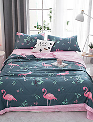 cheap -Comfortable - 1pc Bedspread Summer Polyester Cartoon