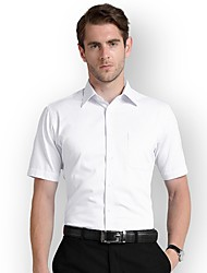 Недорогие -Муж. Рубашка Деловые / Классический Полоски