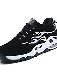 Недорогие -Муж. Полиуретан Осень Удобная обувь Спортивная обувь Для баскетбола Контрастных цветов Черный и золотой / Черно-белый / Черный / Красный