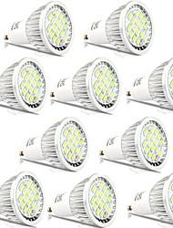abordables -10pcs 5 W 400 lm GU10 Spot LED 16 Perles LED SMD 5730 Décorative Blanc Chaud / Blanc Froid 85-265 V
