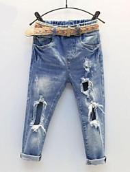 preiswerte -Baby Mädchen Solide Jeans