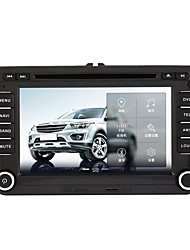billiga -520WGNR04 7 tum 2 Din Windows CE 6.0 / Windows CE In-Dash DVD-spelare Inbyggd Bluetooth / GPS / iPod för Volkswagen Stöd / RDS / Spel