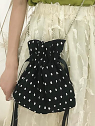abordables -Femme Sacs Toile Mobile Bag Phone Gland Blanc / Noir / Rouge