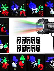 abordables -KWB 10pcs 10 W Focos LED Impermeable / Decorativa / Adorable Multicolor 100-240 V Iluminación Exterior