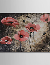 cheap -Oil Painting Hand Painted - Still Life / Floral / Botanical Modern Canvas