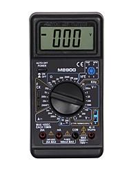 Недорогие -m890g lcd портативный цифровой мультиметр, используемый для дома и автомобиля