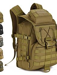 cheap -40 L Hiking Backpack - Rain-Proof, Wearable Outdoor Military, Travel Nylon Grey, Camouflage, Khaki