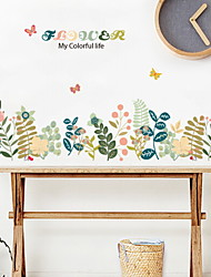 cheap -Decorative Wall Stickers - Plane Wall Stickers Still Life / Arabesque Bedroom / Indoor