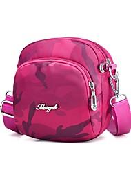 cheap -Women's Bags Nylon Mobile Phone Bag Zipper Dark Blue / Purple / Fuchsia