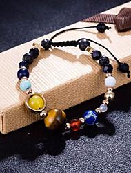 cheap -Women's Braided / Beads Strand Bracelet / Loom Bracelet - Star, Ball Stylish, Trendy, Sweet Bracelet Rainbow For Gift / Date