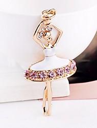 Недорогие -Брелок Люди Изображение Модные кольца Бижутерия Белый / Розовый Назначение Подарок Свидание