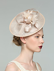 07497d99 Flax Fascinators with Solid 1pc Wedding / Special Occasion Headpiece