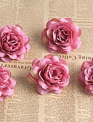 baratos -Flores artificiais 5 Ramo Clássico / Solteiro (L150 cm x C200 cm) Estiloso / Pastoril Estilo Rosas Flor de Mesa